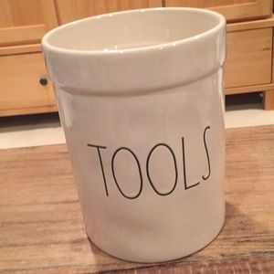 "Rae Dunn ""Tools"" utensil caddy"
